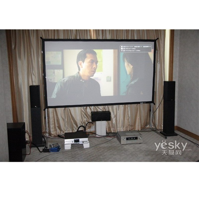 180 inch 16:9 Fast-fold Rear Projection Screen/fast Fold Screen/large Outdoor Projection Screens