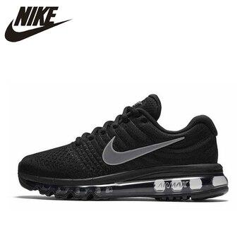 check out 116b4 f0a8a Nike Air Max 2017 las mujeres transpirables Original nueva llegada  auténtico correr zapatos deportivos zapatillas de deporte 849560-001