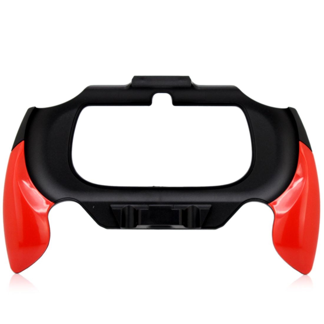 Handgrip Bracket Holder Flexible Hand Handle Grip for PS Vita PSV-2000 Game Red Black Contrast Color Stand