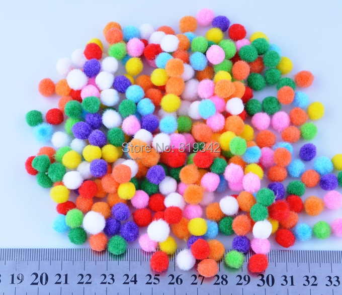Small Decorative Balls Amazing 500Pcslot Small Multicolour Diy Decoration Ball 8Mm Fur Ball Inspiration Design
