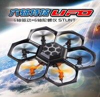 Rc Quadcopter X45 2.4G 6-axis UFO 3D Uçan Güçlü RC Drone UFO Yarışı uzaktan kumanda drone için eğitim oyuncak çocuk en iyi hediye