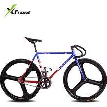 Unidad Original de la Frente marca Bicicleta Fija del engranaje fixie 46 cm 52 cm de BRICOLAJE de Una pista de bicicleta de carretera de velocidad de la rueda bandera bicicleta fixie bicicletas