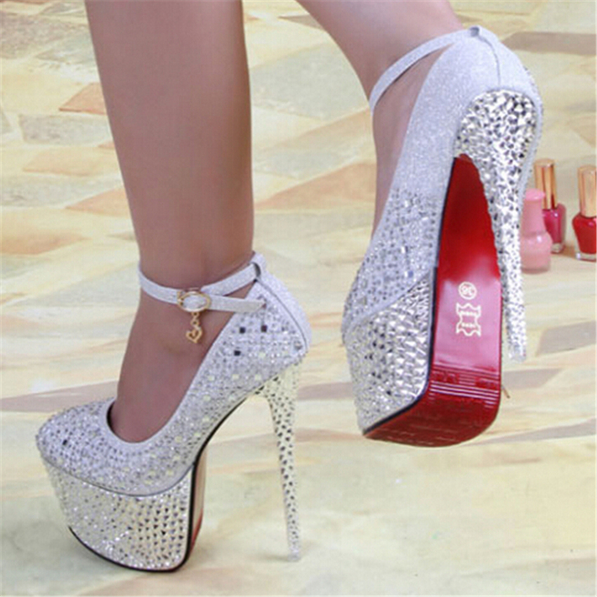 2014 New Arrive Women's Pumps 16cm Red Bottom High Heels