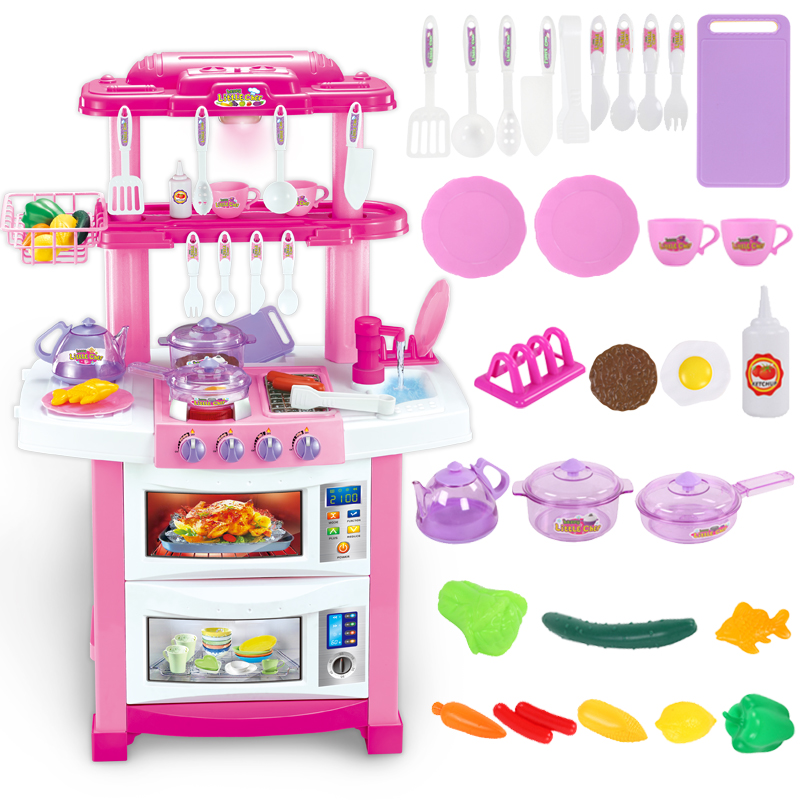 Online buy wholesale large kids kitchen from china large for Cheap childrens kitchen sets