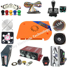 цена на Pandora box 9D Jamma board 2222 in 1 with zippy joystick push button DIY Arcade kit For coin operated game machine Pandora's 9D