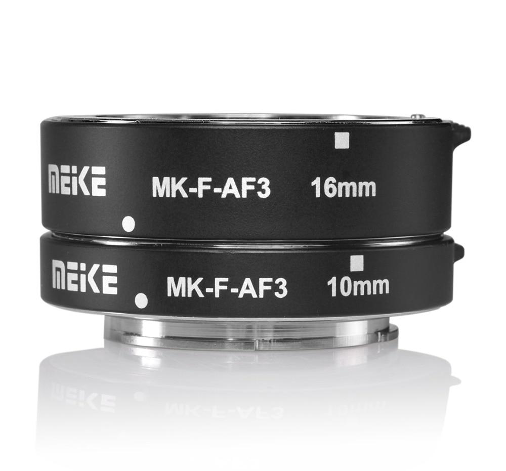 Meike MK-F-AF3 Metal Auto Focus Macro Extension Tube 10mm 16mm for FUJIFILM XPro2/XT1/XA2/XE2/XE2s/X70/XE1/X30/X70/XM1/XA1/XPro1