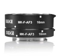 Meike MK F AF3 Metal Auto Focus Macro Extension Tube 10mm 16mm For FUJIFILM XPro2 XT1