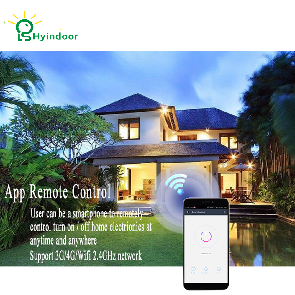 Hyindoor Smart Dimmer Light Switch Wireless Remote Control Anywhere For A House Wiring Needed Compatible No Hub Required Neutral Wire Require In Switches From Lights Lighting On