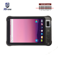 Original KT75 1D 2D Laser Barcode Scanner Android 8.1 PDA Fingerprint Reader Handheld POS Terminal 4G LTE Mobile Tablet PC USB