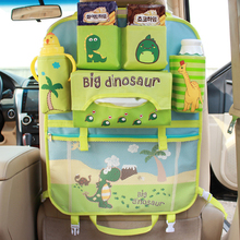 Foldable Car Cartoon Backseat for Babies