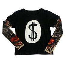 Children s Clothing Boy T shirt Cotton Kids font b Clothes b font Patchwork Fashion Baby