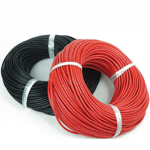 Image 2 - 5 Meter Red + 5 Meter Nero Filo di Silicone 14AWG Resistente Al Calore Molle Del Silicone Gel di Silice Filo Elettrico Cavo di Connessione per rc Modello di Batteria