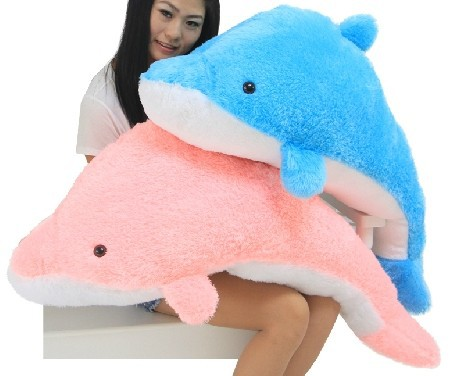100cm Giant Huge Cuddly Stuffed Animals Plush Lovely Big Dolphin