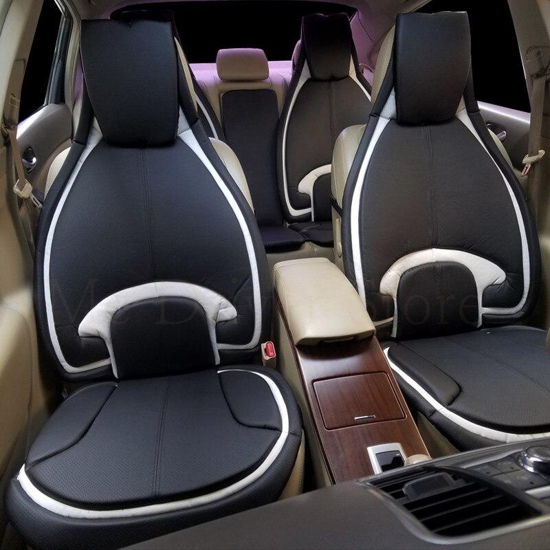 Housse de siège de voiture coussin en cuir taille universelle pour Audi A4L Ford mondeo Malibu kuga Regal q5 accessoires d'intérieur mode