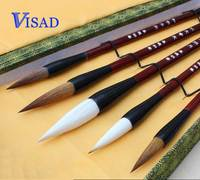 AA Chinese brush Calligraphy pen set high quality pure woolen weasel hair brushes Lian brush