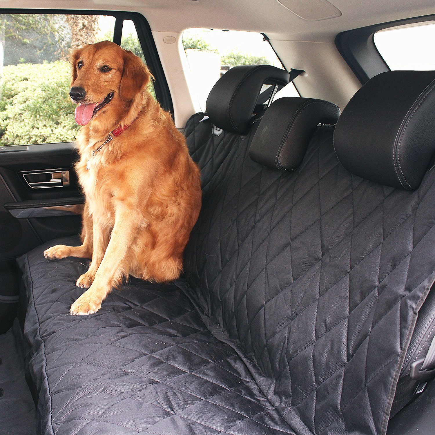 BarksBar Luxury Pet Car Seat Cover With Seat Anchors for Cars ...