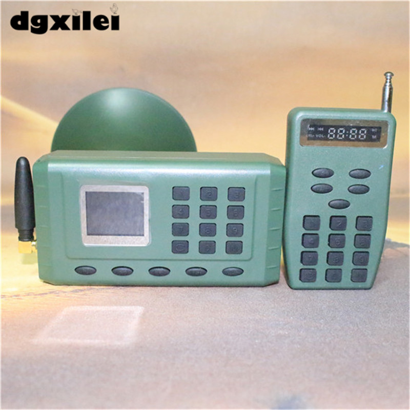 Electronics remote control digital Hunting mp3 decoy bird Caller tactical hunting decoy bird caller remote control electronics lcd bc 798b mp3 sound player digital hunting equipment