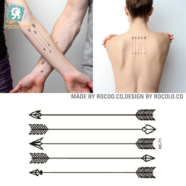 2pcs/lots Disposable Waterproof Small Tattoo Tattoo Stickers And Fresh HC1071