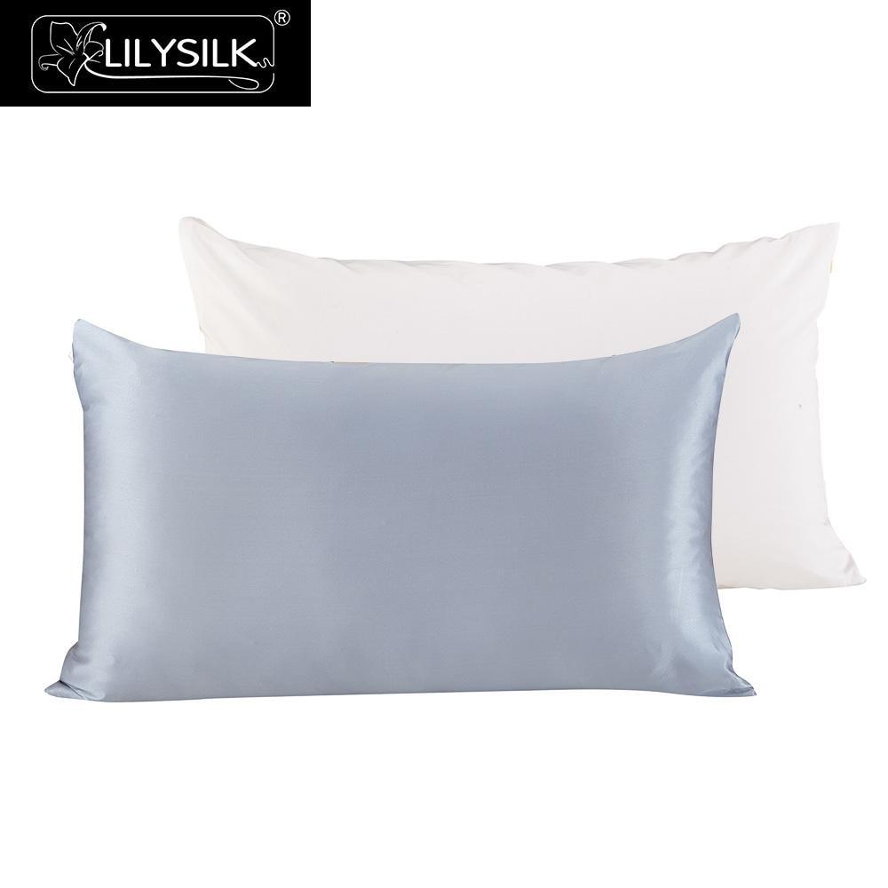 Lilysilk Mulberry Silk Cotton Pillowcase Beauty Luxury