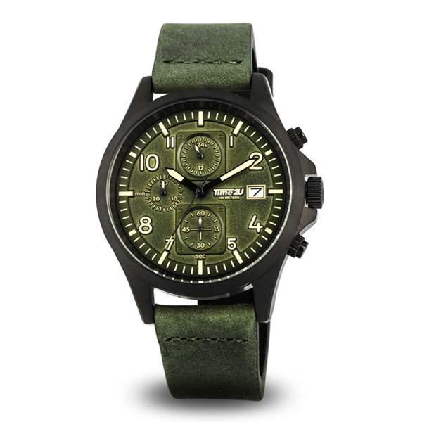 ФОТО Time2U Mens Sport Motor Racing Dashboard Dial Casual Wristwatch Quartz Watch