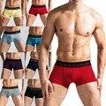 Sexy men underwear boxer shorts bulge calzoncillos suave caliente