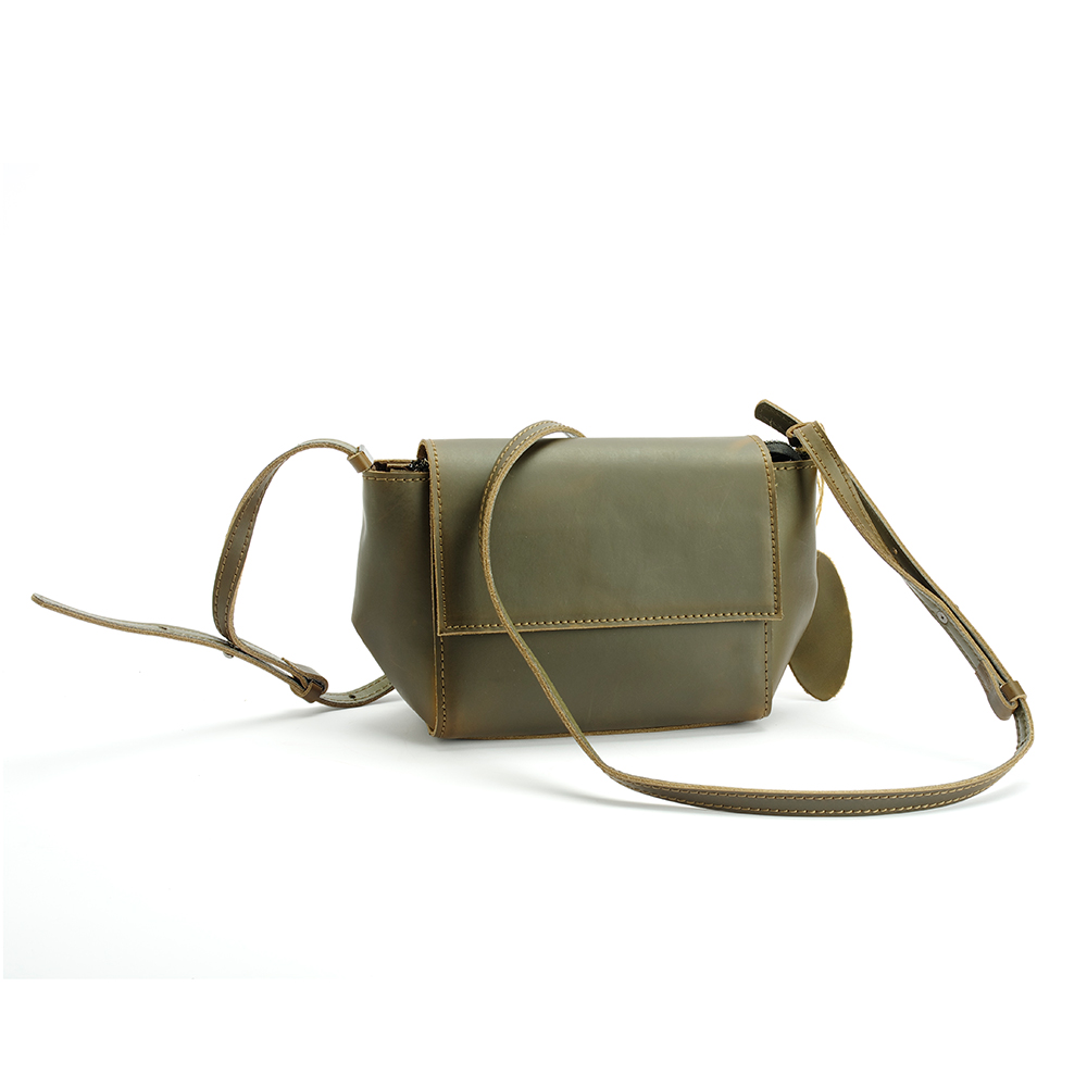 New Vintage Handbag Genuine Leather Bag Green Small Woman Bangalor Personalized Package Crazy Horse Ladies Bag Shoulder Bags new vintage handbag genuine leather bag green small woman bangalor personalized package crazy horse ladies bag shoulder bags