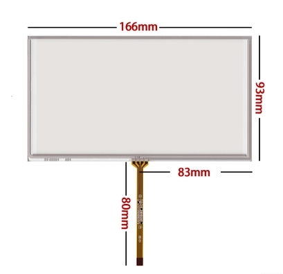 166 93 new 6 95 inch touch screen resistance touch screen industrial touch screen
