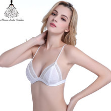 fd2b2be52ad41 Lace Bras For Woman Under Thick Thin Cup Comfortable Breathable Brassiere  Bra Sexy Seamless Underwear Women Lingerie Lace Bra