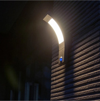 Outdoor Wall Lamp 6w Led light with PIR sensor IP54 Sconce for garden Villa balcony wall lighting