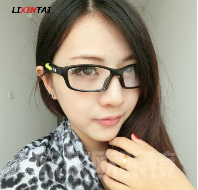 0d988a11b08 Fashion Optical Student myopia strong Glasses Frame motion Transparent  Spectacle Flexible and firm Frame Eyeglasses Eyewear 8029