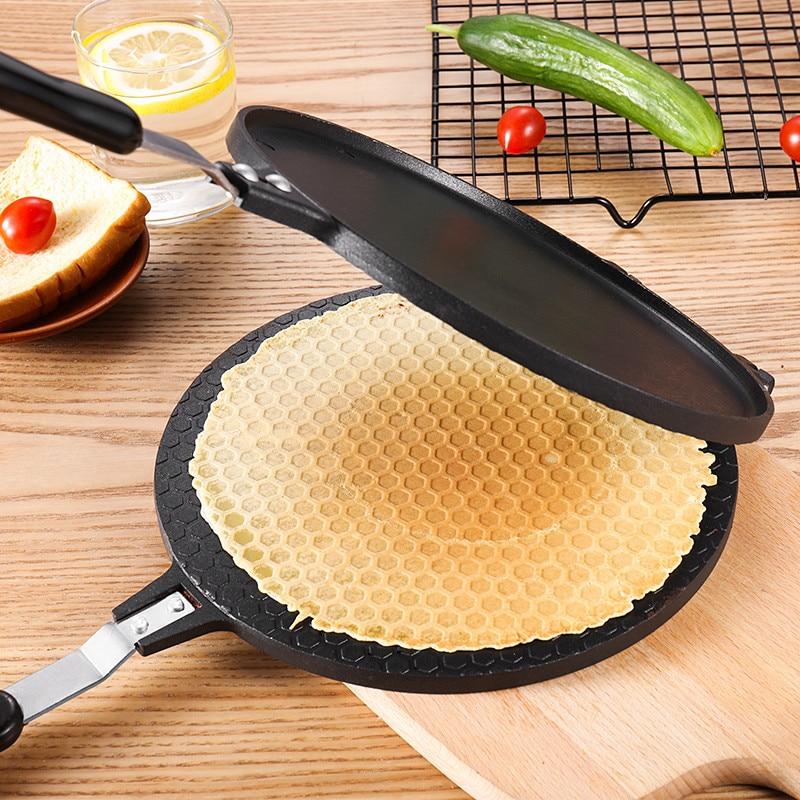 Round Crispy Egg Omelet Waffle Bakeware Pan