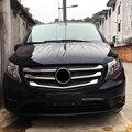 Für Mercedes Benz Vito (W447) 2014 2018 ABS Zubehör Mitte Unten Front Grill Kühlergrill Abdeckung Trim 5 stücke|Dachgepäckträger & Boxen|Kraftfahrzeuge und Motorräder -