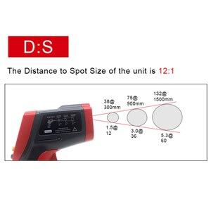 Image 4 - GT750 GT950 IR מדחום אינפרא אדום לייזר אקדח 50 ~ 750 50 °C ~ 950 °C תואר Pyrometer דיגיטלי ללא מגע טמפרטורת Tester