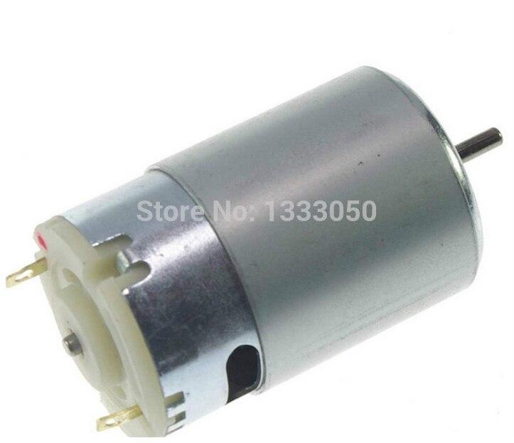 Free Shipping RS555 DC Hobby Motor Turbine Generator 12 V 5500RPM High Torque rs555 dc hobby motor turbine generator 12 v 5500rpm high torque