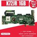 K72JR материнская плата 1 ГБ для For Asus K72JR K72J K72 материнская плата для ноутбука K72JR материнская плата K72JR Материнская плата Тест 100% ОК