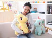 large 35cm cartoon unicorn plush toy soft doll pillow toy Christmas gift b2012