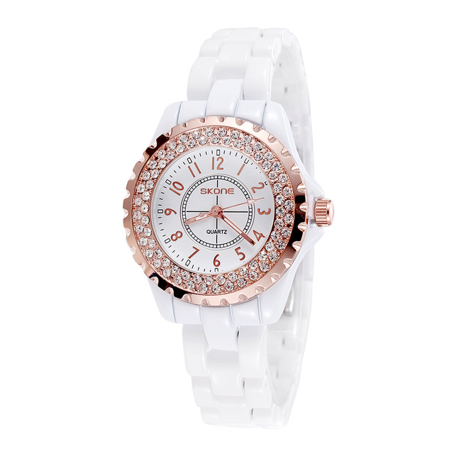 Famous Brand Luxury Casual Quartz Ceramic Watch