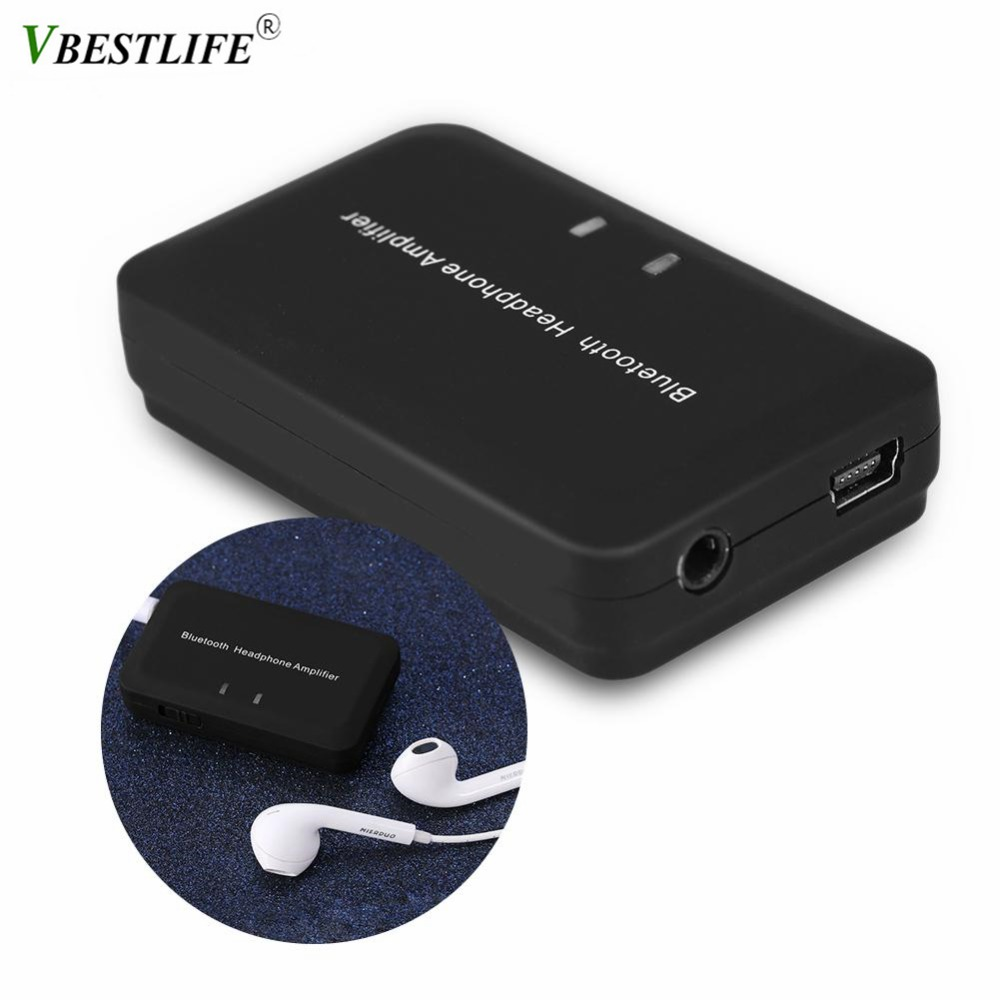 Wireless Bluetooth 4.1+EDR Headphone Amplifier 5V Portable