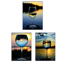 5d diamond painting wine glass round diy mosaic picture embroidery pattern handmade