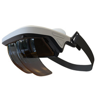 New AR Glasses 3D Glasses Virtual Reality AR Box Holographic Effect Smart Helmet Augmented 3D Glasses