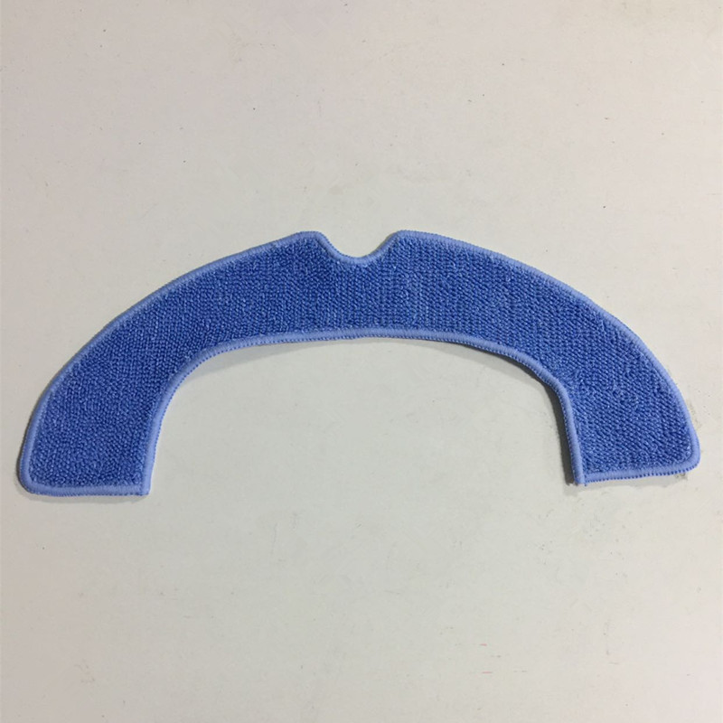 1 piece Robot Vacuum Cleaner Parts Dry Mop Cloth for QQ6 Robotic Vacuum Cleaner 12pcs lot high quality robot vacuum cleaner wet mop hobot168 188 window clean mop cloth weeper vacuum cleaner parts