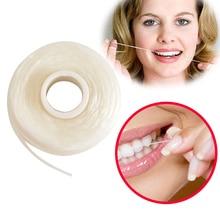 5 шт/2шт/1 шт зубная нить встроенная катушка воск мятный ароматизированный Европа Замена плоская проволока зубная нить 50 м/рулон уход за полостью рта