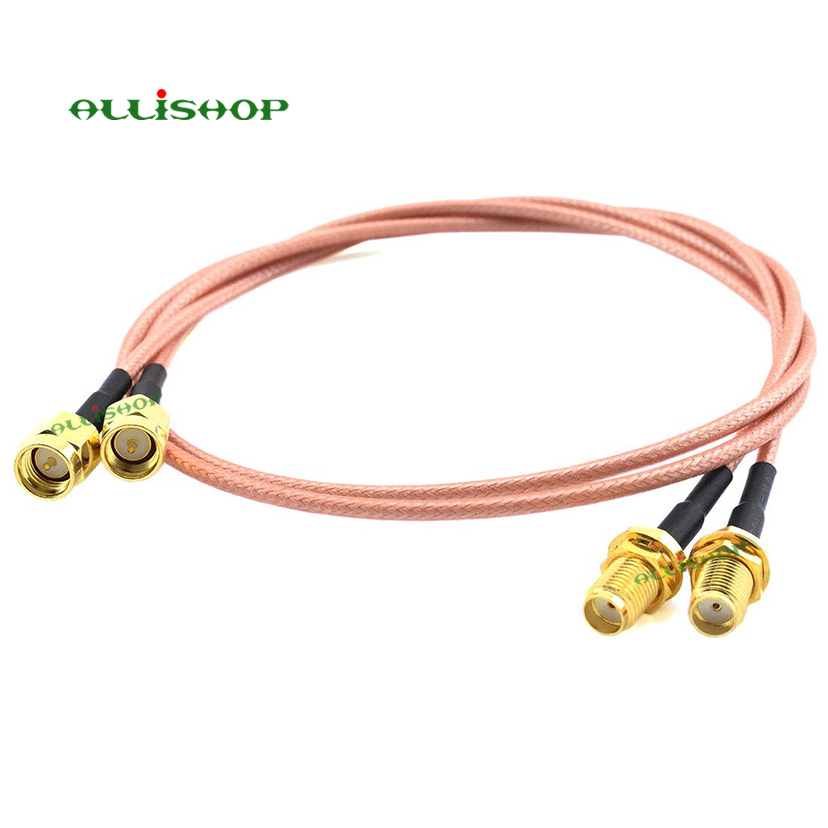 1/3/5/8/10M Pigtail Extension FPV Antenna Cable SMA Male to SMA Female RG316D Double Shield Silver Wire Low Loss Coaxial Cable1/3/5/8/10M Pigtail Extension FPV Antenna Cable SMA Male to SMA Female RG316D Double Shield Silver Wire Low Loss Coaxial Cable