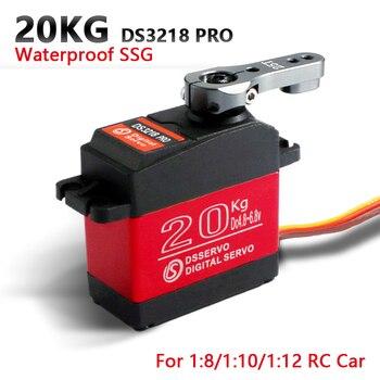 1 X Waterproof servo DS3218 Update and PRO high speed metal gear digital servo baja servo 20KG/.09S for 1/8 1/10 Scale RC Cars 1