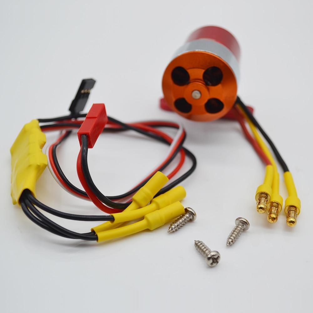 Pompe à fumée Miracle avec moteur sans balais ESC pour accessoire d'avion à moteur à essence RC