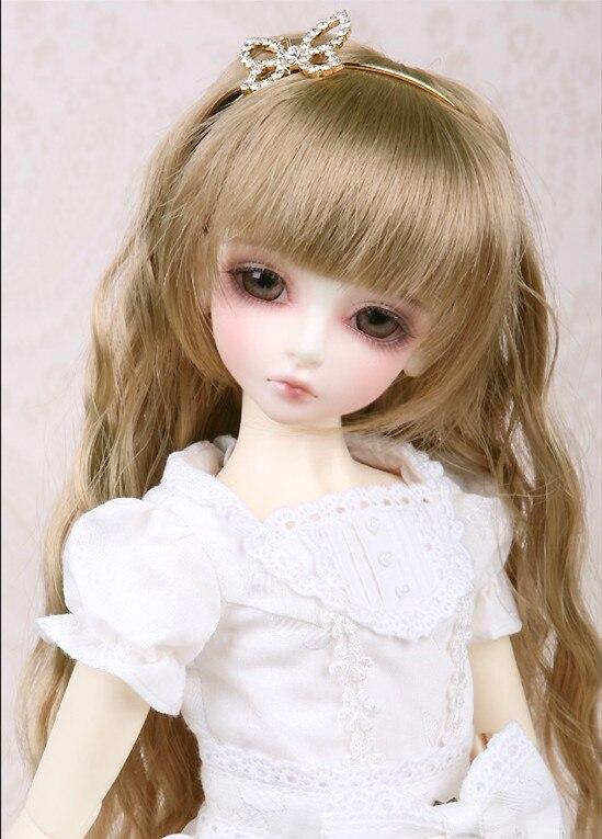 BJD / SD doll BJD doll 4 stars BORY baby girl birthday gift send eye makeup
