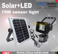 10w sensor light