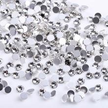 1440pcs/pack SS3-SS10 Crystal Flatback Non HotFix Rhinestones For Nail Art Decoration 3d diy Glass Jewelry Glitter