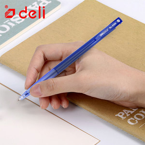 Image 5 - Deli 60Pcs Black Red Blue Ink Ballpoint Pens For Writing Student Stationery Luxury Rollerball 0.7mm Ball Pen Office Accessories
