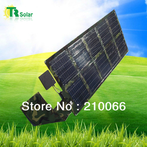 free shipping solar bank 40W solar charger waterproof foldable USB recharger mobile phone iphone ipad cellphone sunpower